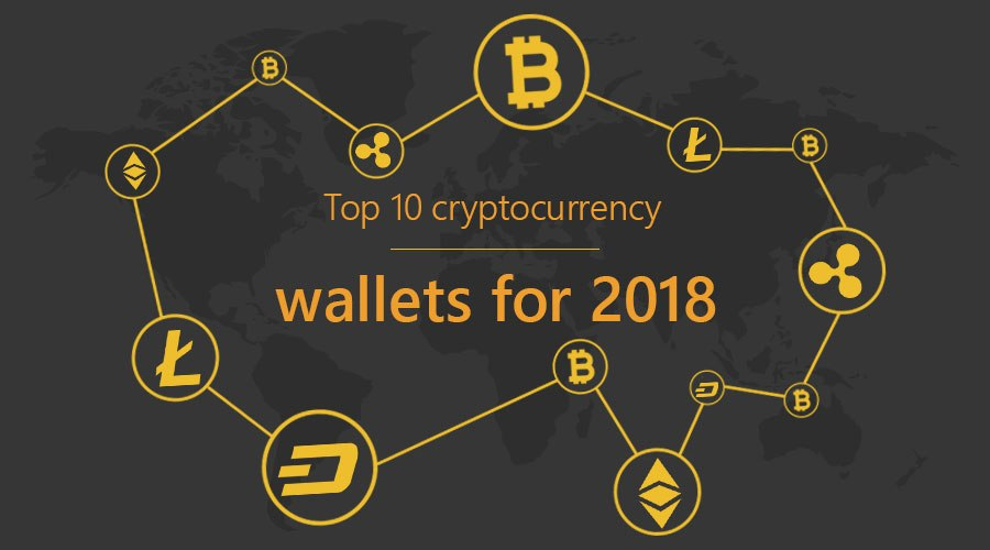 Top-10-cryptocurrency-wallets-for-2018