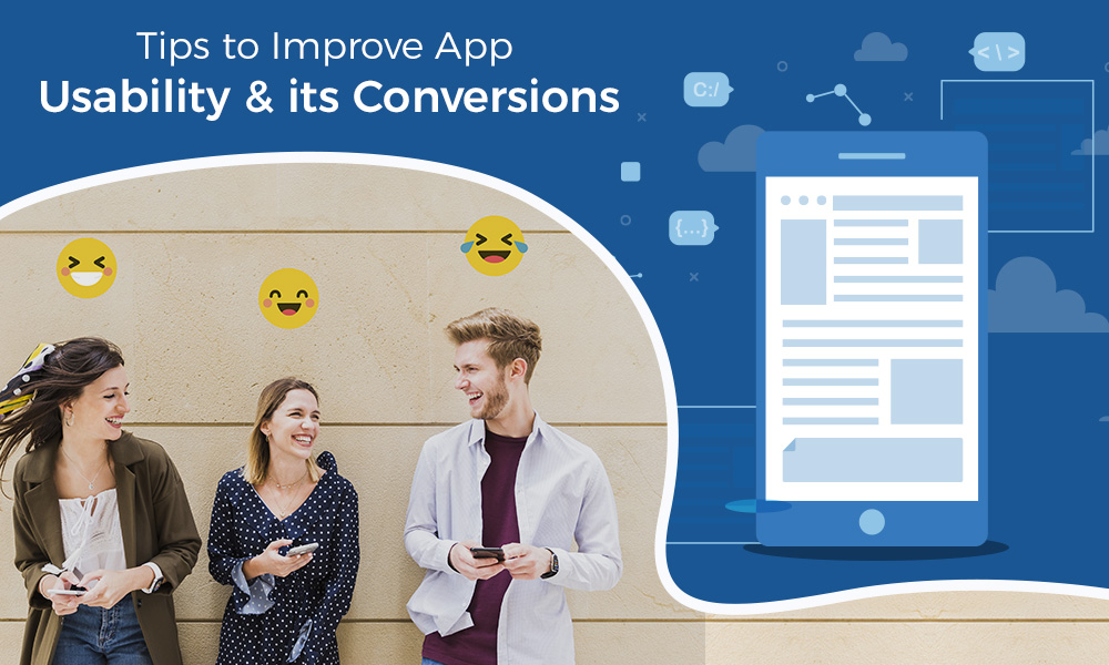 App usability and conversions rate