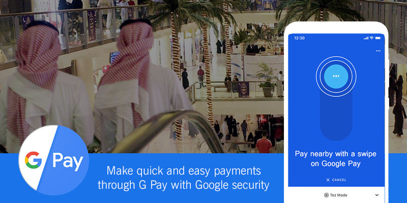 Google pay app is available in UAE